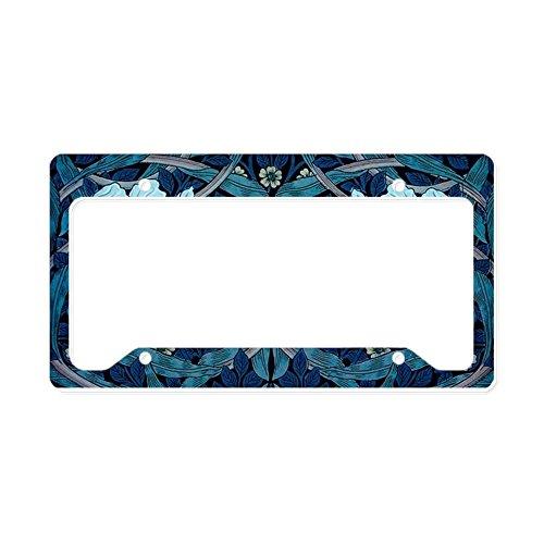 CafePress - Tulip Fancy - Aluminum License Plate Frame, License Tag Holder