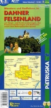 Dahner Felsenland: Wander- und Radwanderkarte. 1 : 25.000