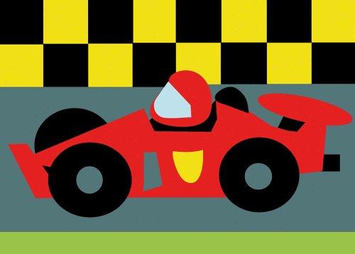 DMC tapestry kit [Race car] C09N175K (japan import) - Import Cars Japan