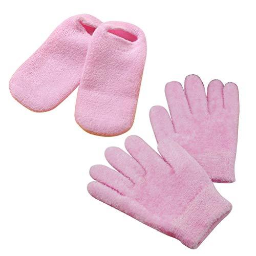 - Frcolor Moisturising gloves moisturising socks set for dry cracked feet and hands 2 pairs