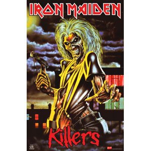 Iron Maiden - Domestic Poster (Iron Maiden Killers Poster compare prices)