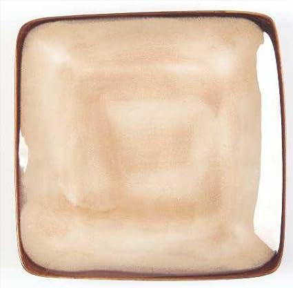 Sango Nova-Brown Square Salad Plate Fine China Dinnerware  sc 1 st  Amazon.com & Amazon.com | Sango Nova-Brown Square Salad Plate Fine China ...
