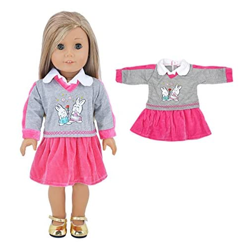85%OFF Ebuddy Fashion 5-sets Ramdon Different Style Doll Clothes ...