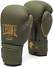 LEONE 1947: Boxing Kickboxing Muay Thai Gloves | Military Edition | w/Glove Bag