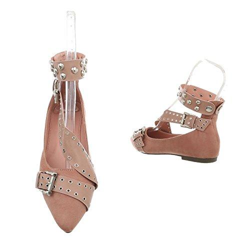 Altrosa Design 127 Classiche 18 Scarpe Blocco Ital da Tacco Donna a Ballerine Ballerine fRRvBdx