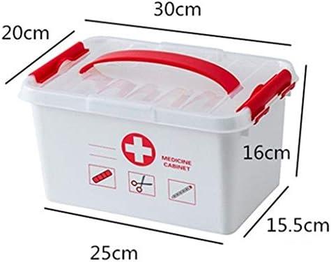 TZSMYX Botiquín Gran Caja de Kit de Medicina Cajas médicas Envase ...