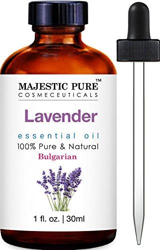 Majestic Pure Bulgarian Lavender Essential Oil, 100% Pure and Natural with Therapeutic Grade, Premium Quality Bulgarian Lavender Oil, 1 fl. oz. (Lavender Majestic)
