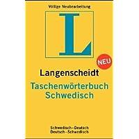 Langenscheidts Taschenwörterbuch, Schwedisch (Langenscheidt taschenwoerterbuchs)