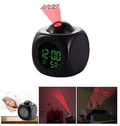 KingZ LED proyector Despertador, Multi-función de la Temperatura ...