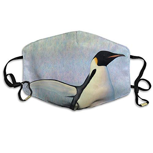 Cute Penguins Face Mask, Reuseable Polyester Face Mouth