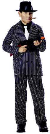 Best Old School Halloween Costumes (California Costumes Toys Gangster, Small)