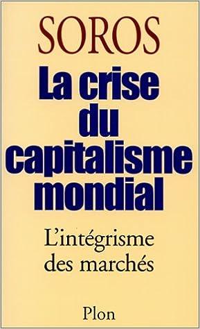 Couverture de Crise du capitalisme mondial