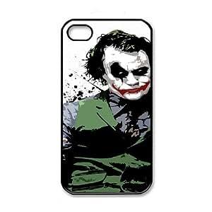 iPhone 4 4s Black Cell Phone Case Batman Joker STY792494 Hard Cell Phone Case