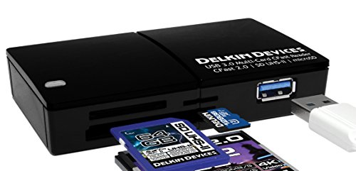 Delkin USB 3.0 Multi-Slot CFast 2.0 Memory Card Reader (DDREADER-48) Delkin Devices Secure Digital Card