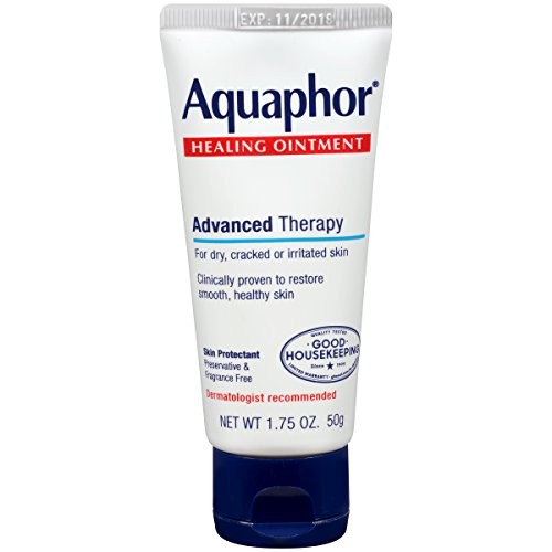 Aquaphor Advanced Therapy Healing Ointment Skin Protectant, 1.75 Ounce (Pack of 3)