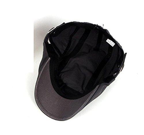 mujeres Sombreros Pintor hombres boinas Halloween avance MASTER caqui sombreros tapas Brown algodón beanie de oscuro hombres Navidad Los Sombreros tapas CwvfqZ0fx