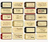 7gypsies 17711 Tag Pack-Quotes Family