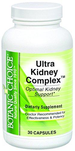 Botanic Choice Ultra Kidney Complex Supplement, 30 Count