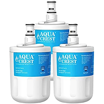 AQUACREST 8171413 Refrigerator Water Filter, Compatible with Whirlpool 8171413, 8171414, EDR8D1, Kenmore 46-9002 (Pack of 3)