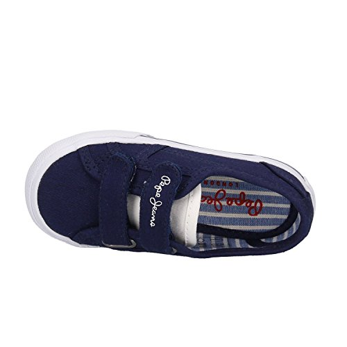 TURNSCHUHS Pepe Jeans PBS30349 575NAVAL Blau Blue