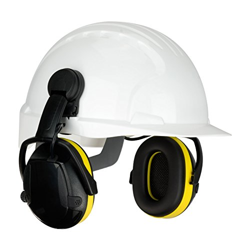 Cap Mounted Electronic Ear Muff with Active Listening - NRR 23 264-47102, (Active Listening Earmuff)