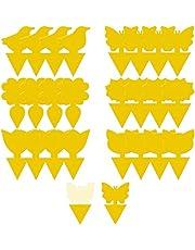 مصائد فارزيو الصفراء اللاصقة لمكافحة الافات الطبيعية في الاماكن المغلقة والمفتوحة - مصيدة الحشرات وذباب الفاكهة والفطر الاصفر للنباتات المنزلية - 24 قطعة