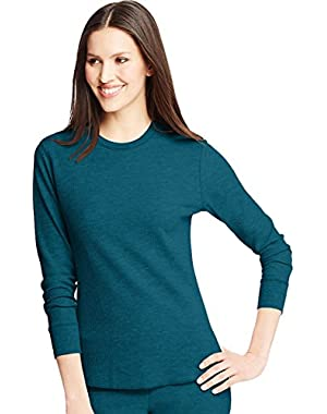 Hanes Women's X-Temp Comfort Thermal Crew
