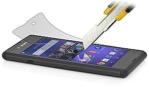 StilGut protector de pantalla de cristal templado para el Sony Xperia E3 (2 ejemplares)