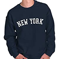 New York State T Shirt Sweatshirt Souvenir University Font Sweatshirt