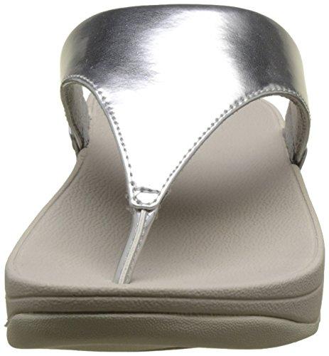 Mirror Plateado Lulu Fitflop Con Toe 300 Post silver Para Plataforma Sandalias Mujer 5wfz6wq