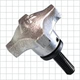 CL-3A-SHK2T Carr Lane Manufacturing Swivel-Washer Hand Knob Assembly: Length: 1
