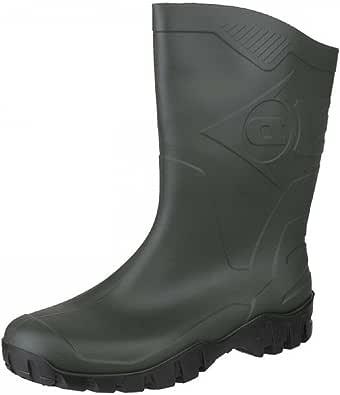 Dunlop - Botas de agua unisex, color verde, talla