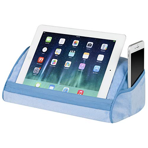LapGear Original Tablet Pillow Stand - Alaskan Blue - Fits most tablet devices - Style No. 35053