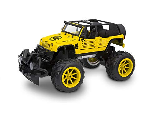 Kidztech Topmaz RC Off Road Truck - 1:16 Scale Officially Licensed Remote Control Vehicle (Jeep Wrangler Rubicon) ()