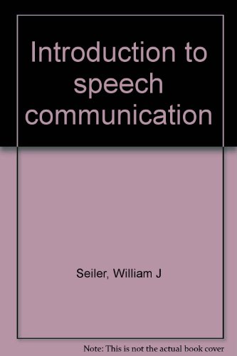 Introduction to Speech Communication