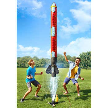 Expect More Ginormous Water Powered Rocket
