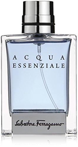 (Salvatore Ferragamo Acqua Essenziale Eau de Toilette Spray for Men, 1.7 Ounce)
