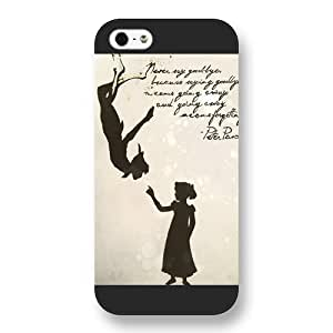 Customized Black Frosted Disney Cartoon Peter Pan Case For Sam Sung Note 3 Cover