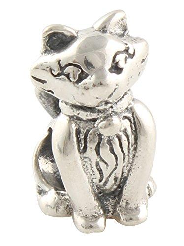 Fina gato - Mujer Bead - Compatible con Pandora Joyas o ...