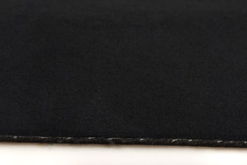Car Interior Fabrics Alacantara Alicante - Forro para Interior de Coche (Ante Sobre Espuma de Poliuretano), Color Negro: Amazon.es: Hogar
