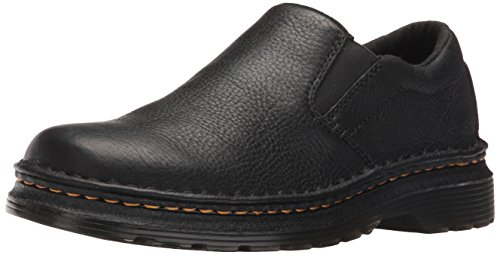 Dr. Martens Men's Boyle Slip-On Loafer, Black, 10 UK/11 M US (Martens Shoes Doc Dr)