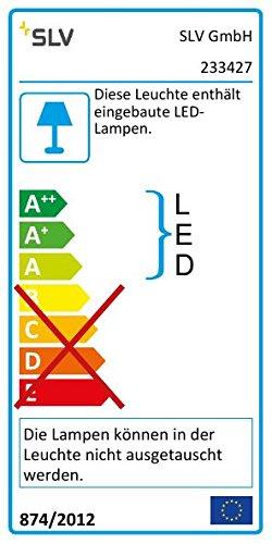 Garten-Lampe LED inklusive Outdoor Wege-Leuchte Einfahrt-Beleuchtung SLV LED Pollerleuchte RUSTY SLOT 50 Premium Standleuchte zur individuellen Au/ßen-Beleuchtung im Rost-Design Sockellampe