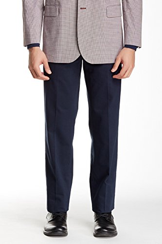Brooks Brothers Men 32x30 Clarks Chinos Wrinkle Free Pants Blue - Brooks Returns Brothers