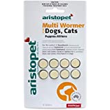 Aristopet Multi Wormer 8 Tablets for Dogs and Cats, 8 Count