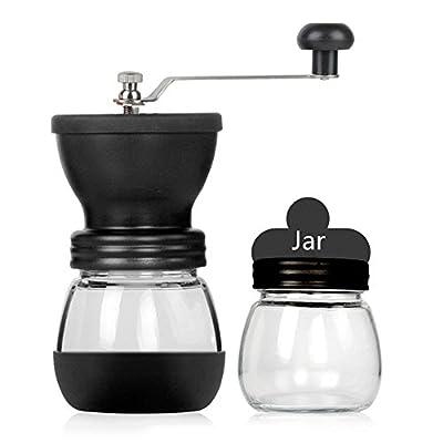 Winner666 2019 Manual Coffee Grinder Adjustable Ceramic Burr Mill Hand Crank Selling Hot from Winner666
