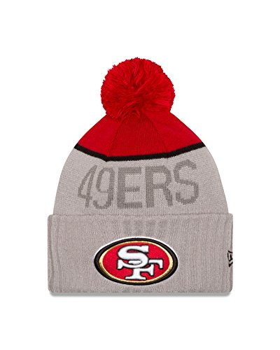 New Era Dragon (NFL San Francisco 49ers 2015 Sport Knit, Red/Gray, One)