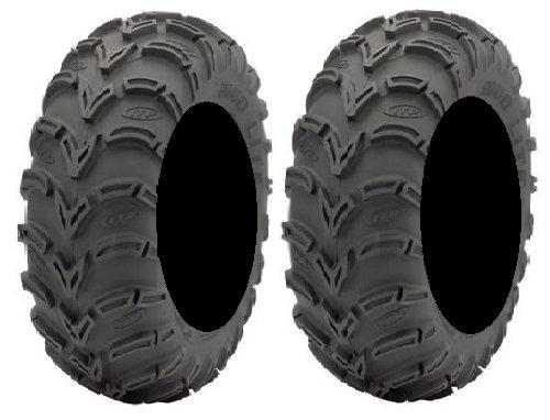 Pair Lite 6ply Tires 25x8 12