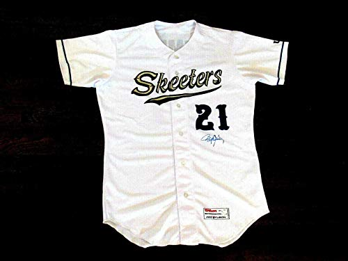 Roger Clemens Signed Jersey - Sugar Land Skeeters Minor League Wilson - JSA Certified - Autographed MLB Jerseys