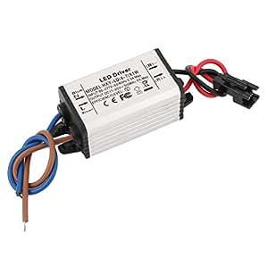 Nceonshop(TM) AC 85-277V to DC 11-25V Waterproof Power Supply Driver for LED Strip Light