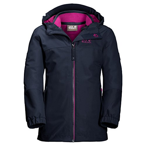 competitive price 95e2c 53434 Jack Wolfskin Mädchen Iceland 3in1 Girls 3-in-1 Jacke